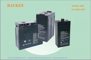 China Less self-discharge 2 / 12 Volt Lead Acid Batteries, 1500AH, 2000AH, 3000AH on sale