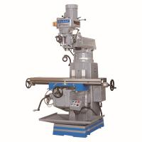 China Low price  vertical turret milling machine 5EA NT40/5HP spindle Taiwan parts 1370*280mm working table mould processing on sale
