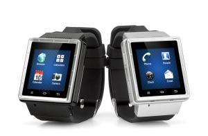 China O telefone celular o mais novo do relógio de Android - 3G, processador de 1G Dual Core, GPS, Wi-Fi, CARTÃO de 32G SD on sale