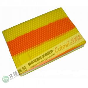 China Factory wholesale spiral shape silicone diary cover on sale