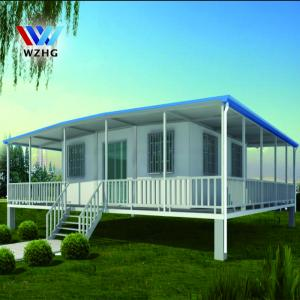 China Steel prefeb building expandable container house for sale on sale