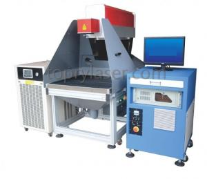 China Rubber Paper CO2 Laser Marking Machine (TR350) on sale