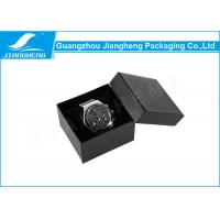 Luxury Small Watch Gift Boxes Paperboard With Soft Velvet Pillow Insert