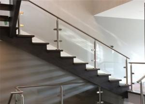 China Modern stainless balustrade stainless steel banister balustrade post railing on sale