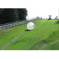 China Crazy Kids Mini Inflatable Zorb Ball Track Soccer Bubble Ball on sale