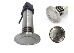 China Medical Flat Membrane Sanitary Pressure Sensor , Flush Diaphragm Pressure Transmitter on sale