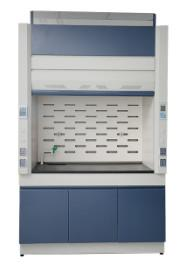 China Stainless Steel Laboratory Fume Hood Corrosion Resistant With Fume Scrubber on sale