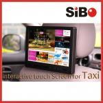 SIBO tela táctil de Android de 10,1 polegadas com software da propaganda para a publicidade do táxi nos táxis