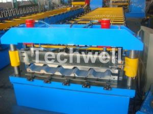 China Aluminium Roofing Sheet Making Machine With Automatic PLC Control System wholesale