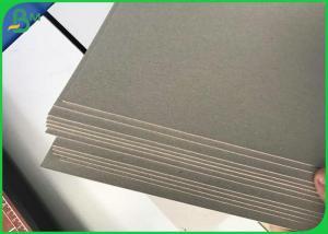Quality Parte posterior a dos caras revestida blanca del gris del tablero de la tiesura for sale