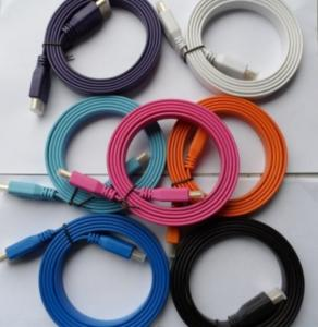 China HDMI flat cable with Ethernet for DVD and HDTV on sale
