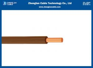 China THW-90 14 AWG 450/750V 90℃ Building Wire And Cable Stranded Copper Wire on sale