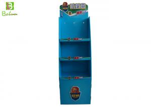 China 3 Tier Merchandising Cardboard Display Fixtures Mosquito Killer KD Structure on sale