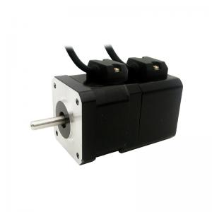 China 2phase NEMA17 Stepper Motor with permanent magnet brake motor torque 0.2N.m(29oz-in) 1.5A 4-lead on sale