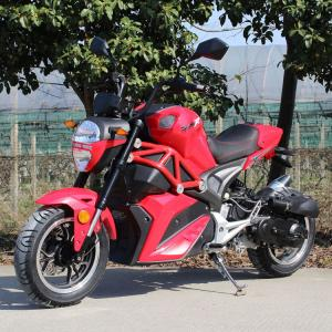 China Single Cylinder High Powered Motorcycles 4 Stroke Air Cooled For Adult on sale