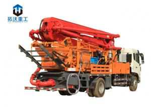 China 28 Mpa System Pressure Truck Mounted Concrete Pump Mini Ready Mixer Truck on sale