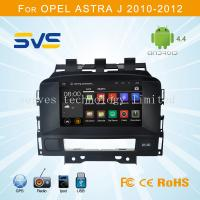Android 4.4 car dvd player for Opel Astra J 2008-2013 / Buick Excelle 2010 with GPS canbus