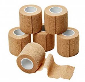 China Medical Treatment Medical Gauze Bandage Elastic Adhesive Bandage Hospital on sale