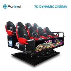 China 6 DOF Movement 8D / 9D / Xd Cinema / 5D Movie Theater Equipment on sale