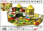 Customized Size Indoor Playground Equipment / SS 304 Indoor Soft Play Equipment