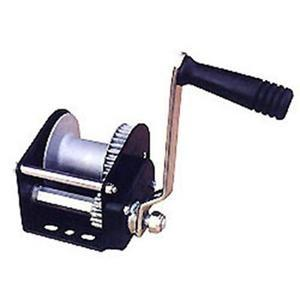 China Marine Deck and Mooring Equipment Worm Gear Steel Hand Anchor Winch on sale