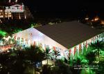 エアコンとアルミニウム白い屋外の贅沢な結婚式のテント