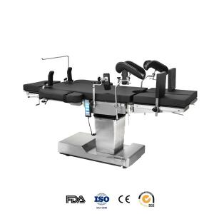 China X ray 110mm Kidney Bridge Hydraulic Electric Operating Table With Memory Foam supplier