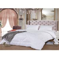 China 180GSM 100% Cotton 60S Goose Down Hotel Bedding Duvet Double Needle Stitched on sale