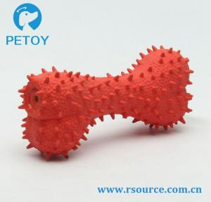 China Spiky Latex fetch dog toys for sale dog toys and bones cheap small dog toys on sale