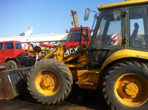 China Used JCB Backhoe Loader 4CX in good condition on sale