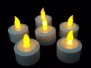 China Set of 12 LED Rechargeable Flameless LED Decorative Candle on sale