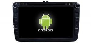 China 8in Volkswagen Android 4.2.2 Car DVD Player with ipod, RDS, Wifi,3G functions on sale