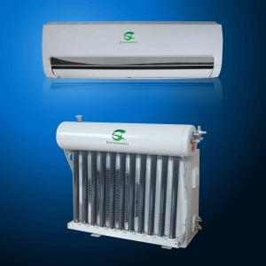 China Low Cost Mature Solar Energy 9000btu Vacuum Thermal Hybrid Solar Air Conditioner on sale