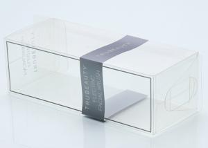 China Clear Plastic Presentation Box , PET PP Pvc Folding Box Packaging Beauty Cosmetic Perfume on sale