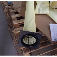 FMS 9806 DN130x6000mm high temperature dust filter bag used in crude iron making plant dust house