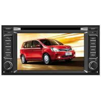 6.2 Inch Nissan Car DVD Player , Two Din Car Radio GPS For Nissan Livina 2013