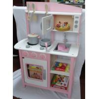 Play House Luxury Large Multifunction Kitchen Toys Microwave Oven Kids Wooden Play Sets