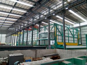 China Economical  Hot Dip Galvanizing Coating Production Line With Steel Substrate on sale
