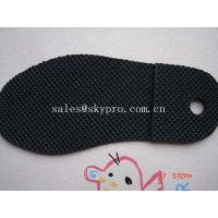 Men and women sole diamond pattern Durable TPR rubber sheets for shoe soles / outsole