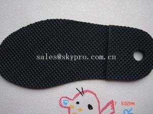 China Men and women sole diamond pattern Durable TPR rubber sheets for shoe soles / outsole supplier