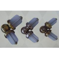 Iron 25mm Curtain Rods Finials Accessories with Painting Surface for Blinds