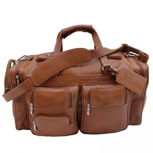China Genuine Leather Travel Duffel Bags Fashionable For Young Men / Women on sale