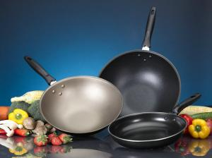China Abrasion Resistance FDA Non-Stick Cookware Coating Black OEM on sale