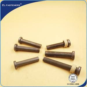 China SO 13918 Shear Connector Studs , Welded Shear Studs Plain Finish SWRCH15A Material on sale