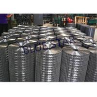 Heavy Welded Wire Mesh Oxidation Resistance , Galvanized Welded Wire Mesh Rolls