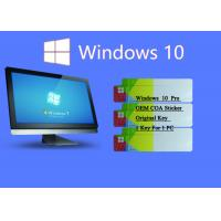 100% Original Windows 10 Pro COA Sticker Online Activate Customizable FQC COA X20