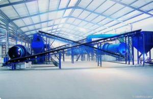 China Organic Fertilizer Production Line on sale