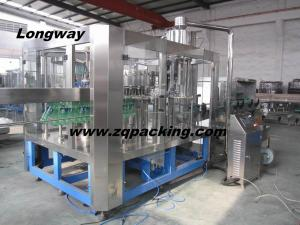 China Operate flexibly carbonated beverage flling line on sale