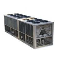 Double Compressor Air Cooled Screw Water Chiller for fishery, sauna, central air condition