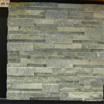 Grey Green Slate Culture Stone , Slate Wall Cladding Panels High Hardness